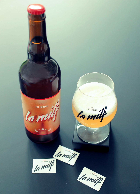 La Milf – Bière – belge – wallonne – Wallonie